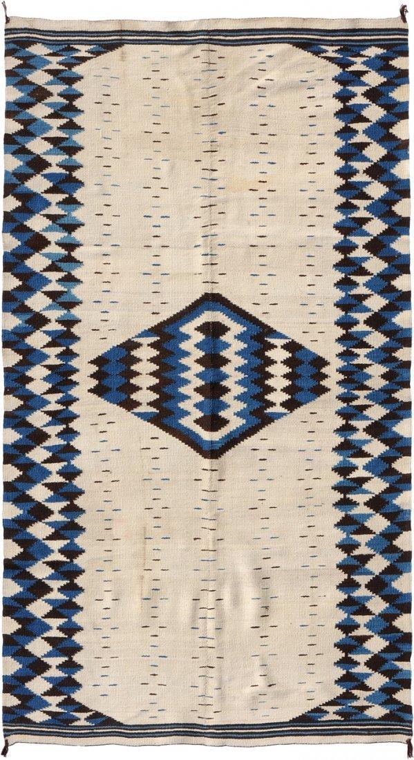 Navajo-Kelim Z-Amerika, um 1900. Elegantes und