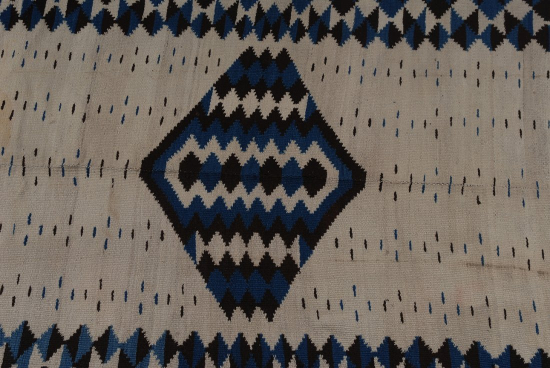 Navajo-Kelim Z-Amerika, um 1900. Elegantes und - 2