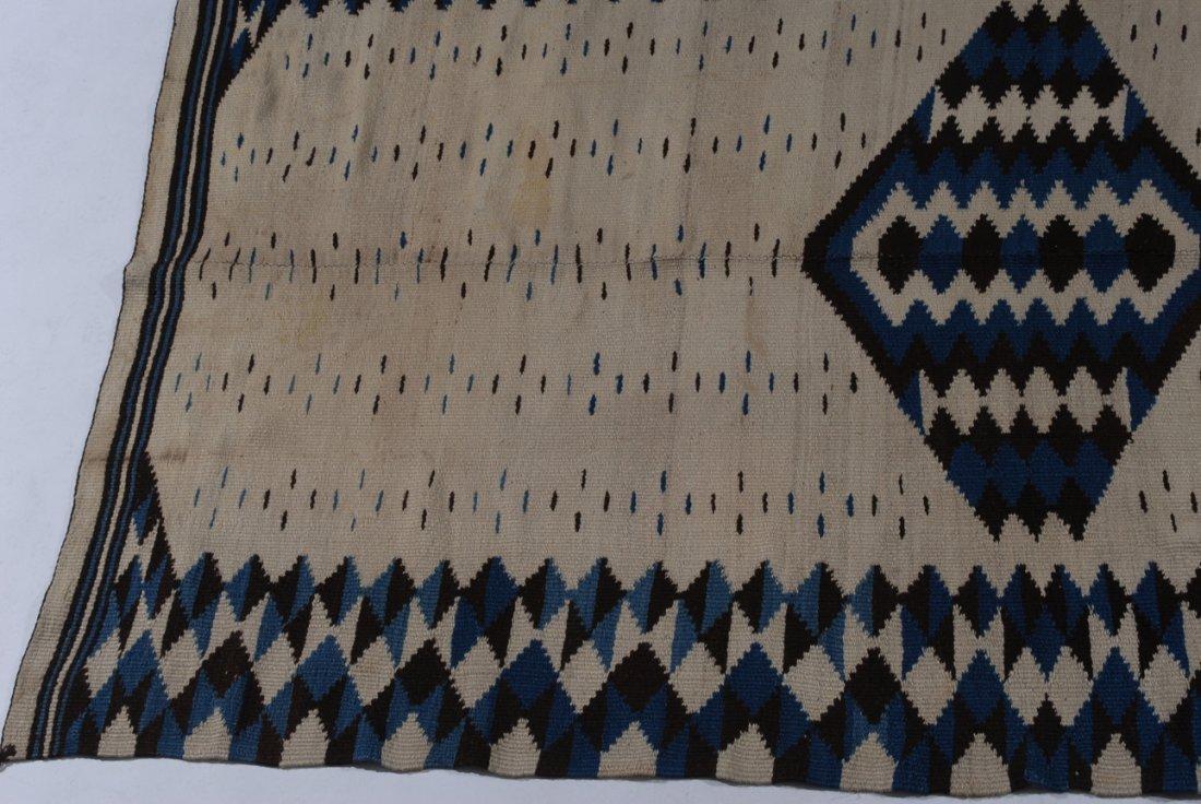 Navajo-Kelim Z-Amerika, um 1900. Elegantes und - 3