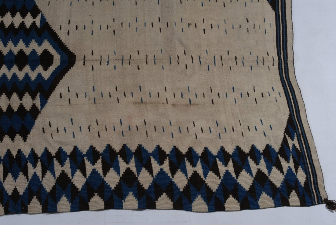 Navajo-Kelim Z-Amerika, um 1900. Elegantes und - 5