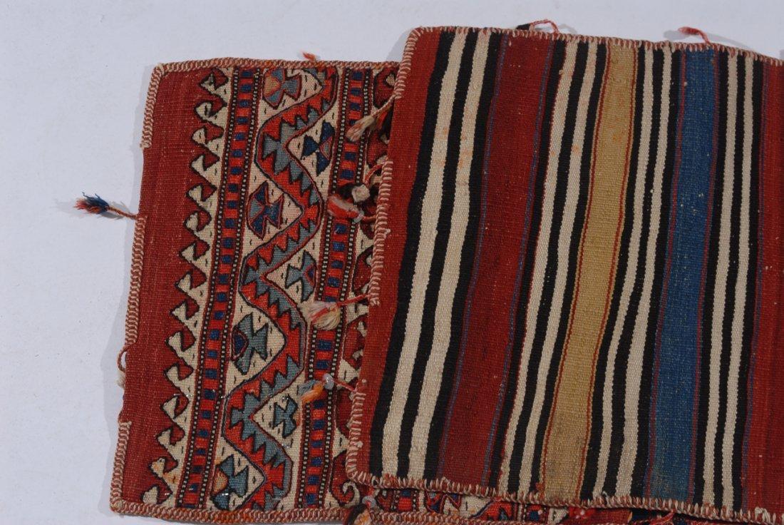 Kurden-Tasche O-Türkei, um 1910. Streifen-Dekor. Der - 5