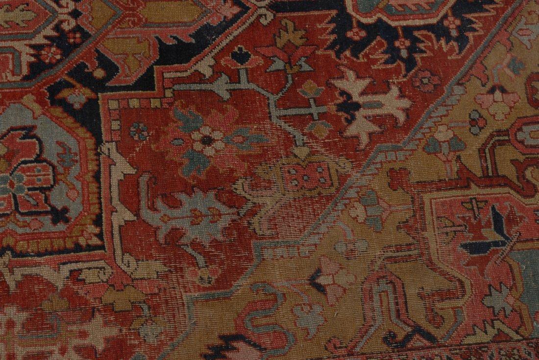 Heriz NW-Iran, um 1910. Im roten Mittelfeld liegt ein - 10