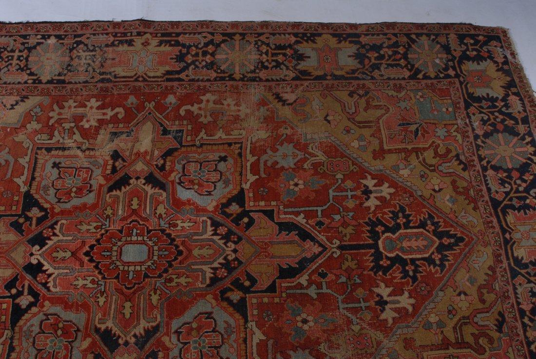 Heriz NW-Iran, um 1910. Im roten Mittelfeld liegt ein - 5