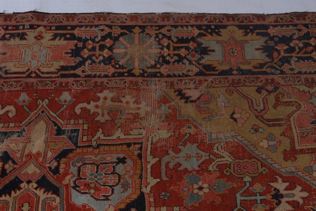 Heriz NW-Iran, um 1910. Im roten Mittelfeld liegt ein - 8