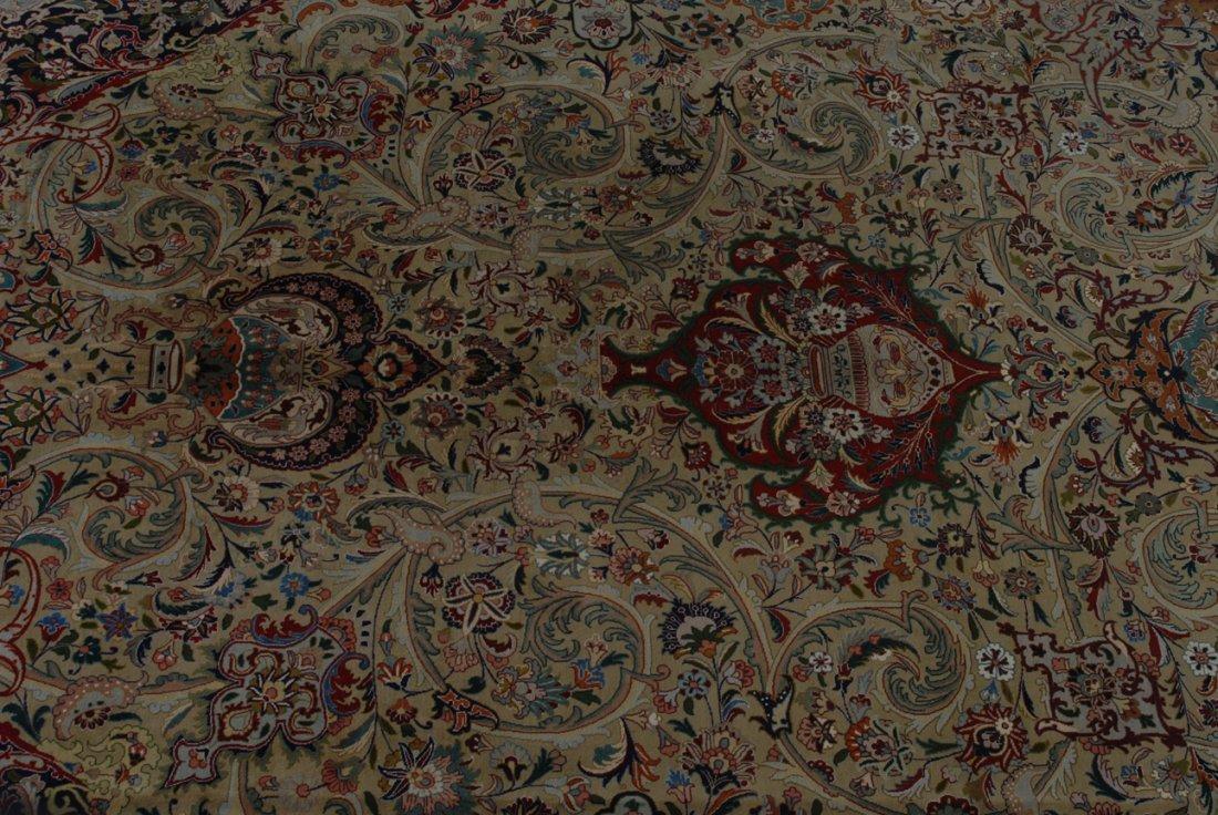 Täbris NW-Iran, um 1960. Dichtes florales Werk. Auf - 3