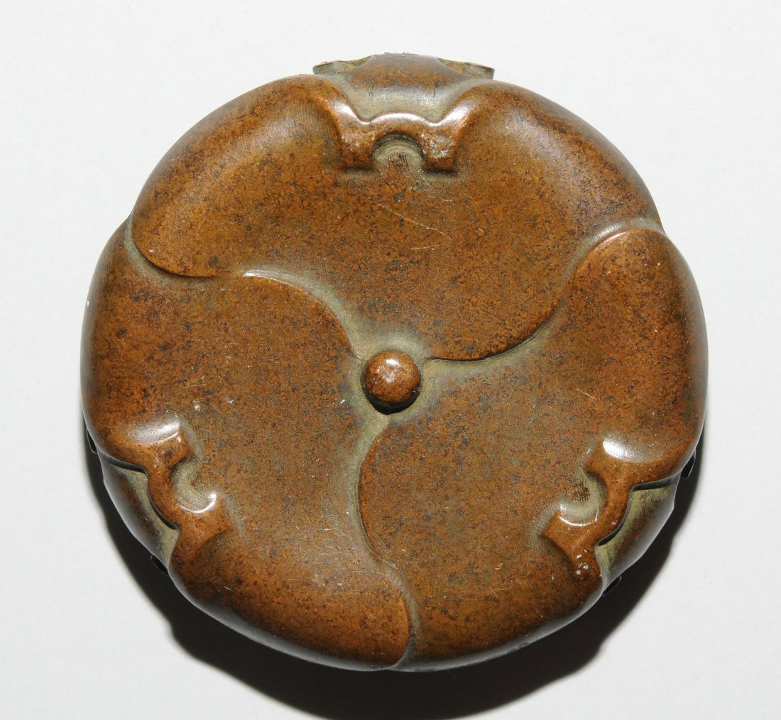 Kleines Ruchergefss China, Qing-Dynastie. Bronze, - 7
