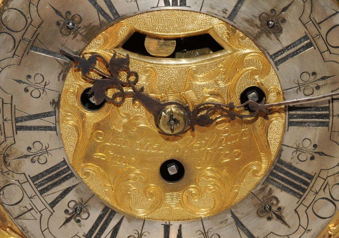 Bracket-Clock Michael Weilhart Prag Tschechien, 18.Jh. - 10