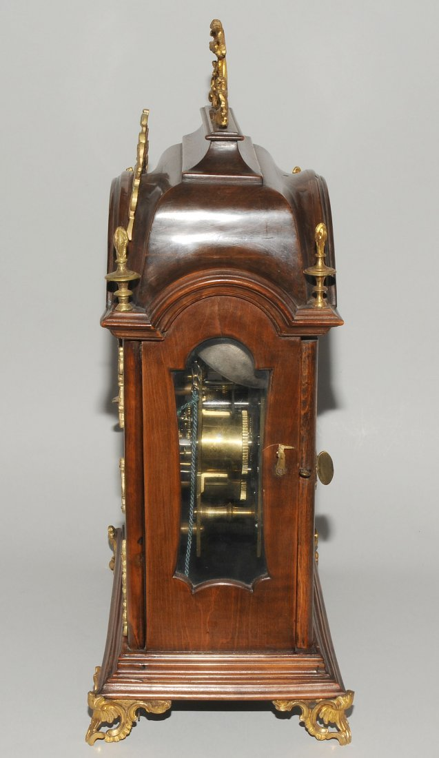 Bracket-Clock Michael Weilhart Prag Tschechien, 18.Jh. - 2