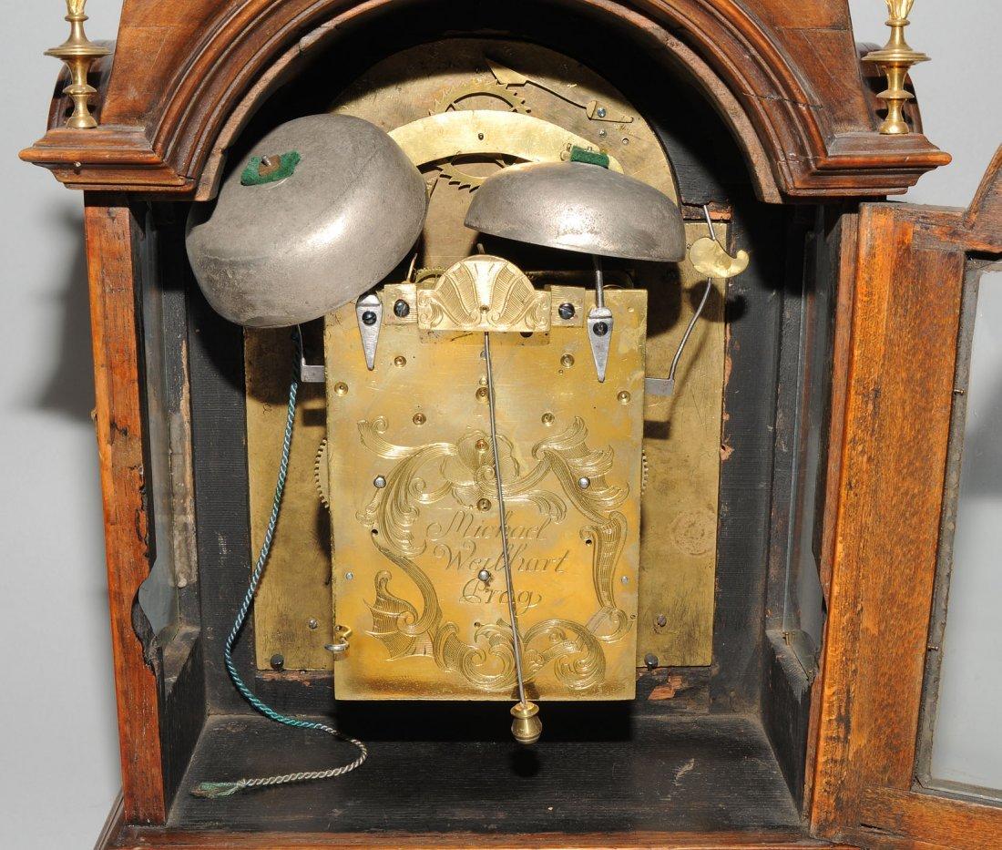 Bracket-Clock Michael Weilhart Prag Tschechien, 18.Jh. - 5