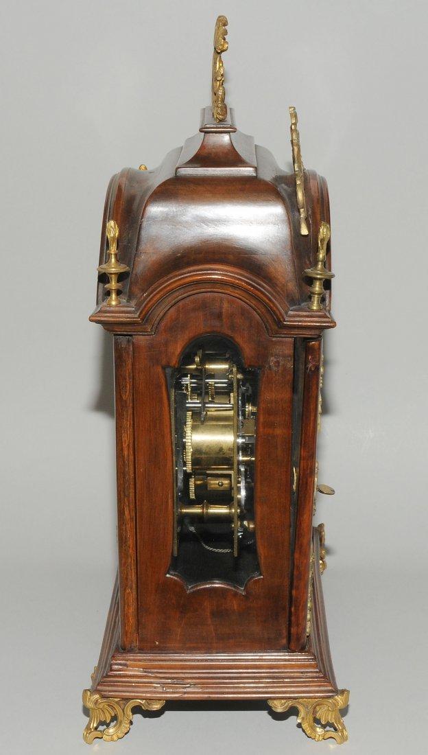 Bracket-Clock Michael Weilhart Prag Tschechien, 18.Jh. - 6