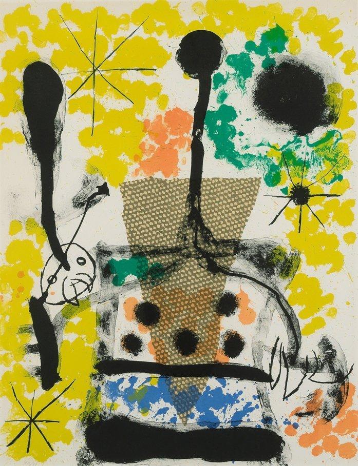 Miro, Joan (Barcelona 1893–1983 Mallorca) Blatt 4 aus: