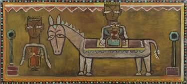 Jamini Roy, In. 1887-1972, The Flight into Egypt