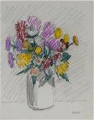 Robert Kulicke, Am. 1924-2007, Floral Still Life