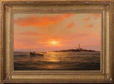 Warren Sheppard, End of Day, Halfway Rock Light