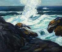 Abraham Bogdanove, Eur. 1887 - 1946, Seascape