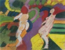Emilio Cruz,    Am. 1938-2004,     Abstract with
