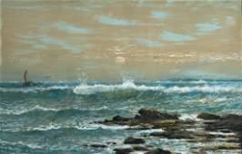 Edmund Darch Lewis,    Am.1835-1910,     Seascape, 1905