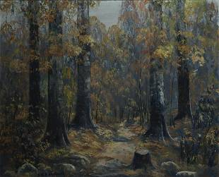 John Wesley Hardick, Am. 1891-1968, Autumn