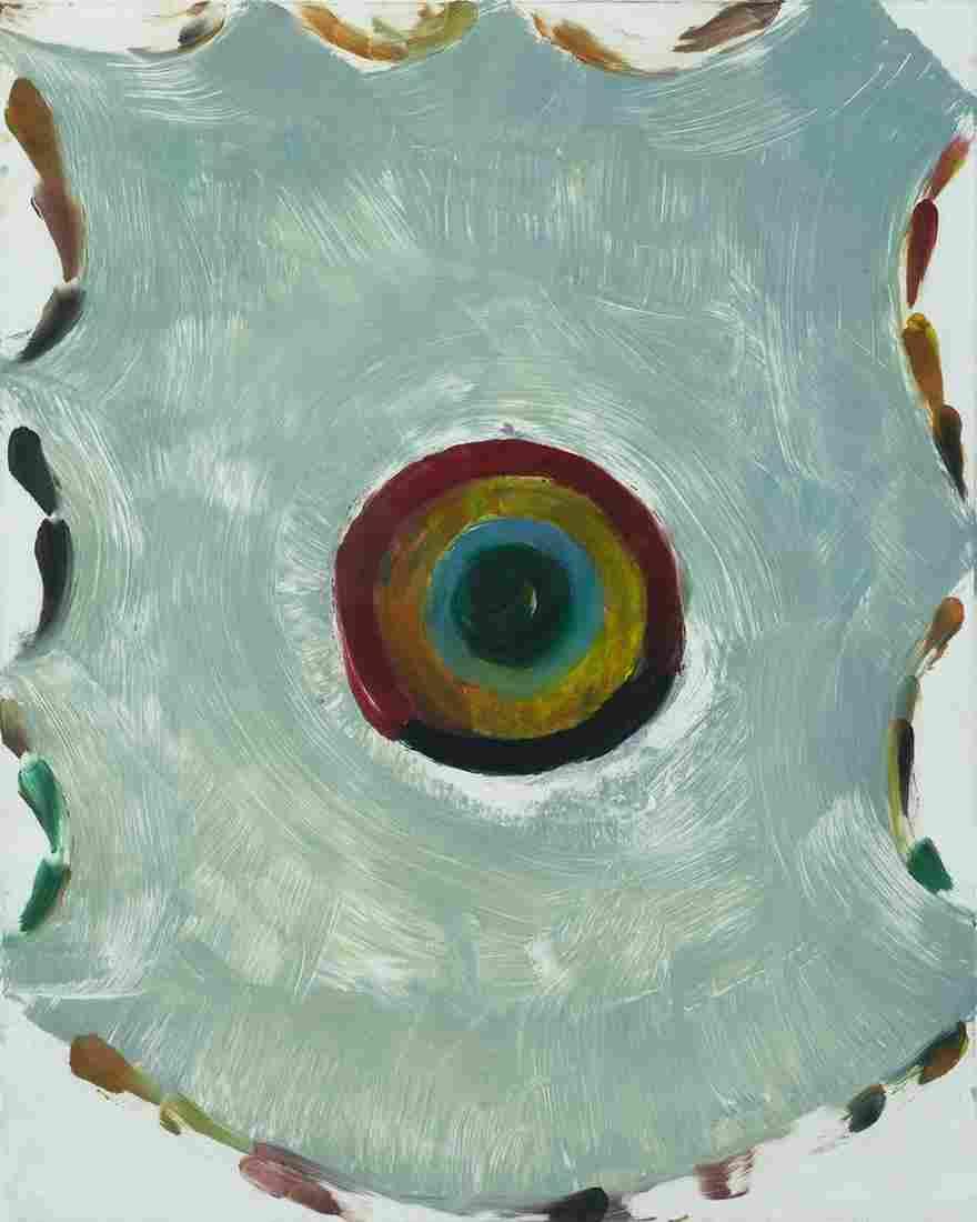 Katherine Bradford (Am. b. 1942)     -  Untitled, 1995