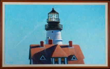 "Jon Legere Am. 1958 ""Portland Headlight"" 1981"