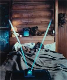 "William Wegman, ""Man Ray & Mrs. Lubner..."", Polaroid"