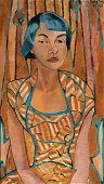 Luce Turnier, Portrait of a Woman, Oil on canvas