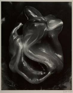 "Edward Weston, ""Pepper #38P"" 1930, Gelatin Silver print"