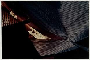 """Philip Isaacson (Am. 1924-2013), """"Naiku at Ise Japan"""""""