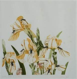 "Valerie Zint (Am. 20th Century), ""Iris"""