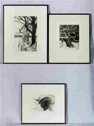 Robert Shetterly (Am. b. 1946), Three Works: