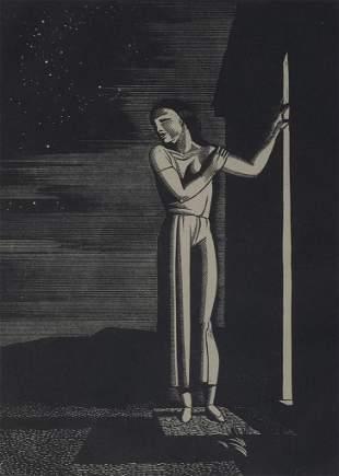 Rockwell Kent (Am. 1882-1971), Starry Night, 1933
