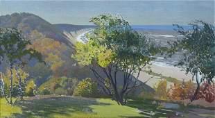 Fred Scherer (Am. 1915-2013), Coastal Landscape