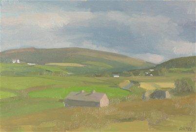 "Diana Horowitz (Am. b. 1958), ""Road to Ballycastle""..."