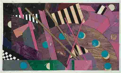 "Robert Reed, ""Plum Nellie, San Romano"" 1979, Mixed"
