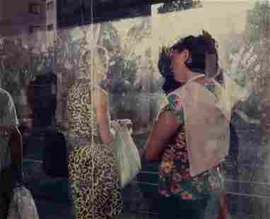 """Paul D'Amato, """"Milan, Italy 1988"""", Inkjet photograph,"""