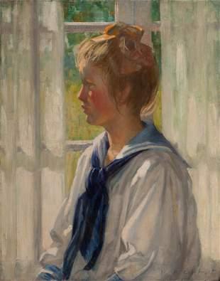 William Wallace Gilchrist, Summer Days (Portrait of