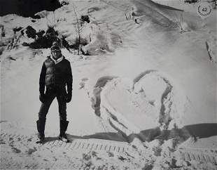 Andy Warhol, Heart of Ice and Snow, Photographic print,