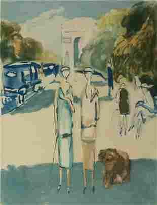 Kees van Dongen, Avenue du Bois (Ginestet & Pouillon