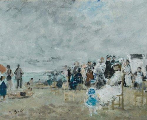 François Gall, At the Beach