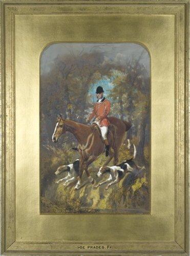 Alfred F. de Prades, On the Hunt