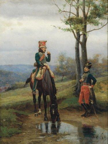 Jean-Jacques Berne-Bellecour, Cavalry Soldiers