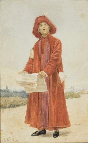 Jean Georges Vibert, The Cardinal