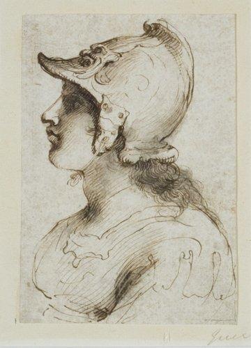 Guercino, Circle of, Athena