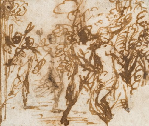 Adam Elsheimer, Untitled with Nudes