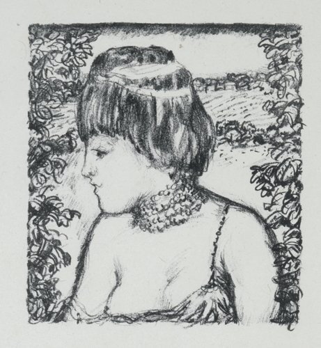 Pierre Bonnard, From Daphnis and Chloe, (an unpublished