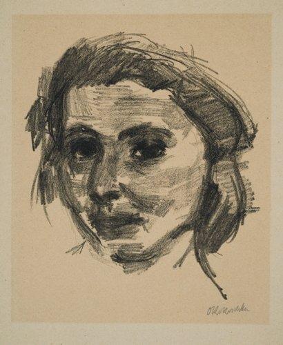 Oskar Kokoschka, Portrait of a Woman