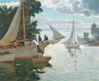Anthony Thieme, In the Bahamas