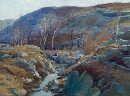 Edward Willis Redfield, Maine Winterscape