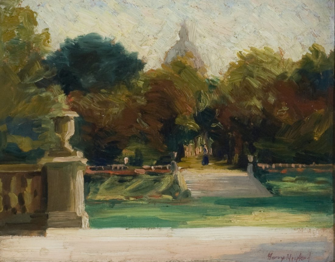 Luxembourg Gardens Gate, Paris