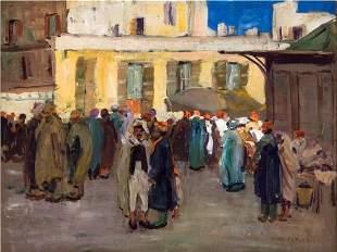 Street Scene, Biskra